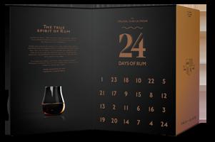 Rumový adventní kalendář